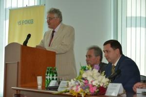 Выступление представителя Кабинета Министров Украины – Петра Калашника