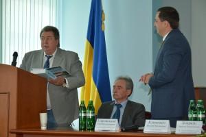 Приветственное слово Председателя Государственной комиссии Украины по запасам полезных ископаемых Григория Рудько