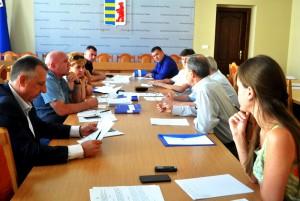 Засідання Закарпатської ОДА