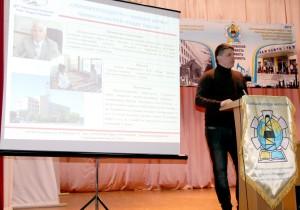 Выступление главного инженера ДП