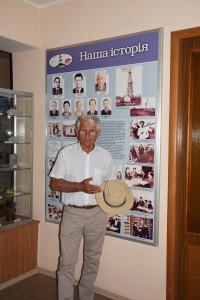 П.С.Голуб розповідає історію з капелюхом С.Е. Черпака