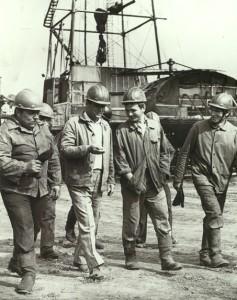 Вишкомонтажна бригада Прилуцької експедиції глибокого буріння