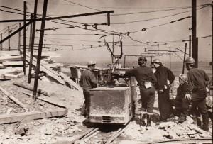 Родовище «Боркут». Пішла перша вагонетка з рудою. 1961 рік