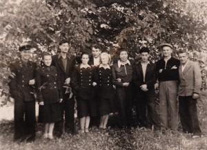 Геолого-зйомочний загін, який відкрив перші шліхові ореоли кіноварі. 1950 рік