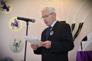 Доклад главного геолога Калушской НГРЭ Ярослава Кремня о достижениях коллектива за 60-летнюю деятельность