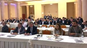 В.о. директора Департаменту геології та виробництва НАК «Надра України»  Микола Кривонос на конференції Odesa Offshore Conference 2017